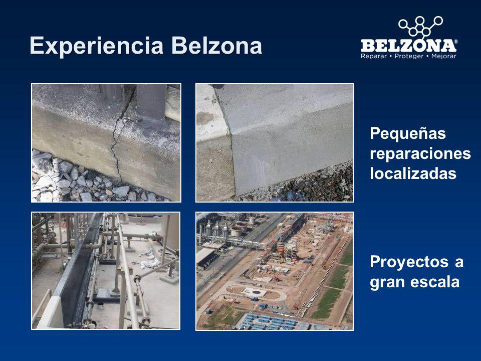 Experiencia Belzona Pequeñas reparaciones localizadas