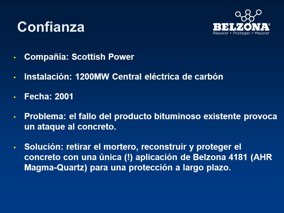 Confianza Compañía: Scottish Power