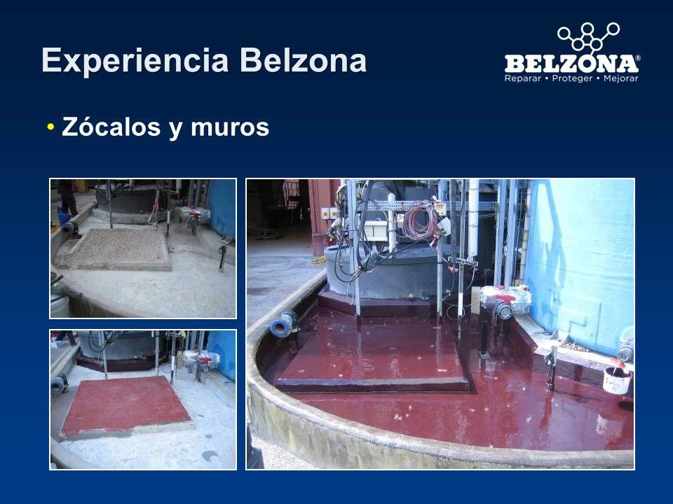 Experiencia Belzona Zócalos y muros