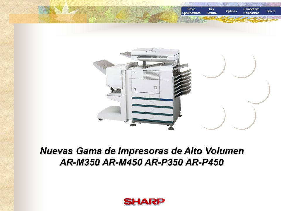 Nuevas Gama de Impresoras de Alto Volumen