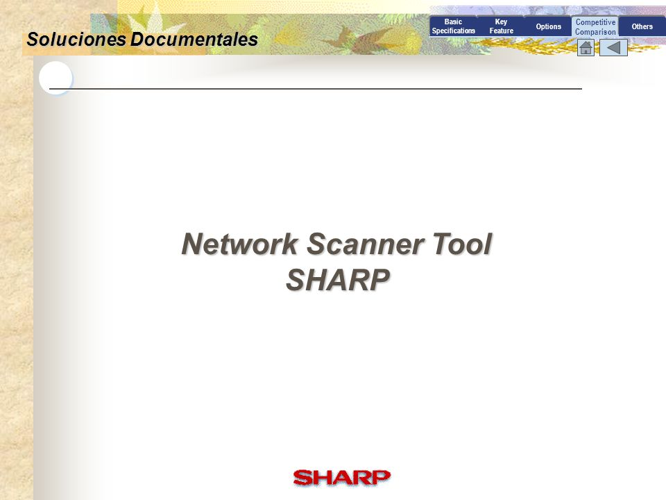Network Scanner Tool SHARP
