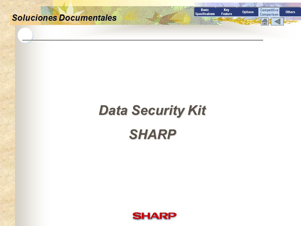 Data Security Kit SHARP