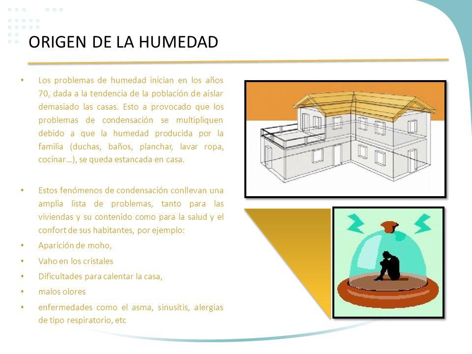 El clima en las paredes ppt descargar - Como solucionar problemas de condensacion en una vivienda ...