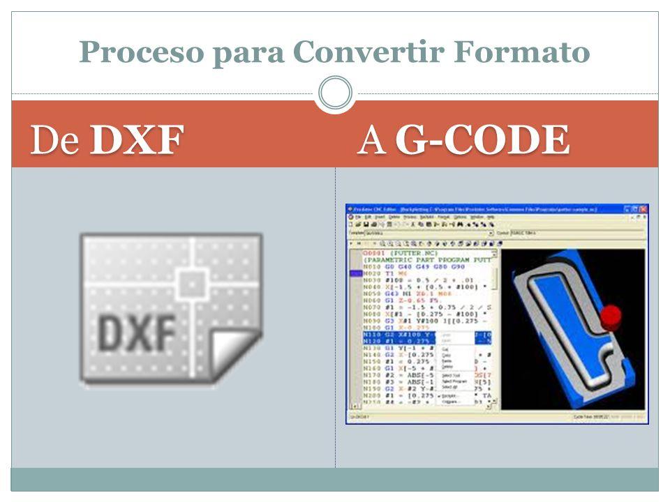 Proceso para Convertir Formato