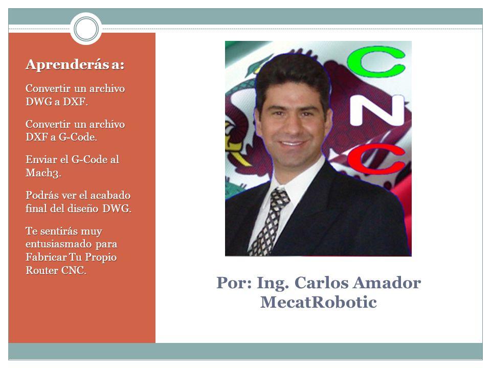 Por: Ing. Carlos Amador MecatRobotic
