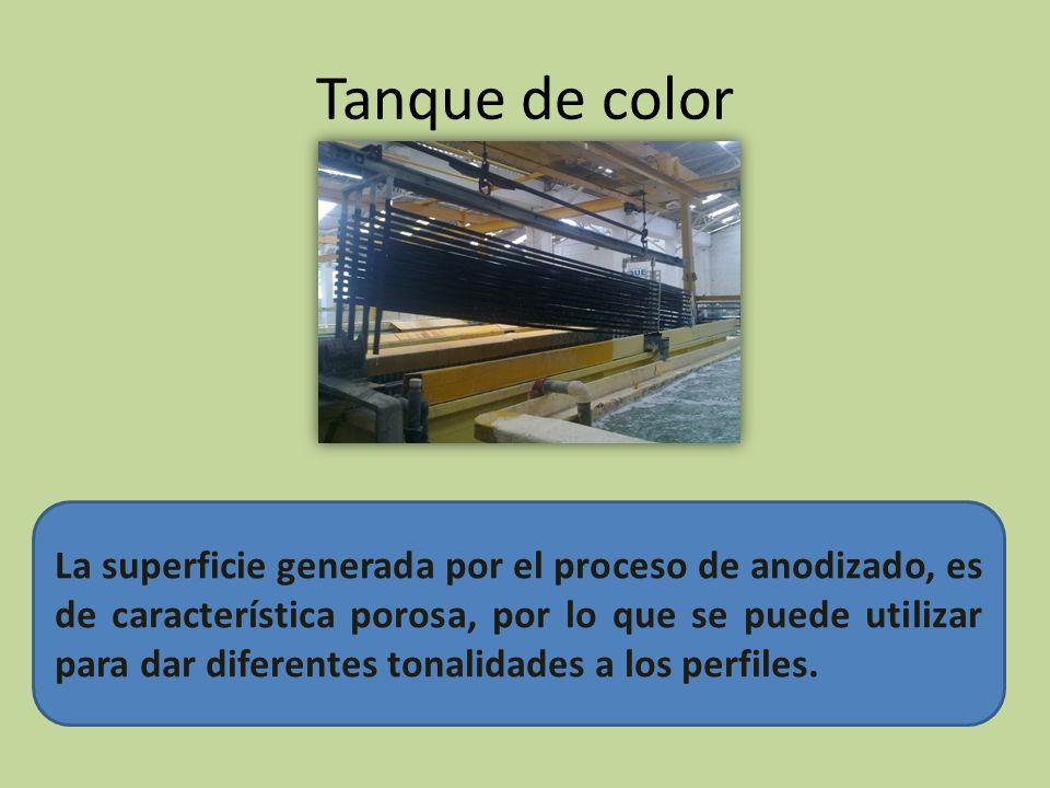 Tanque de color