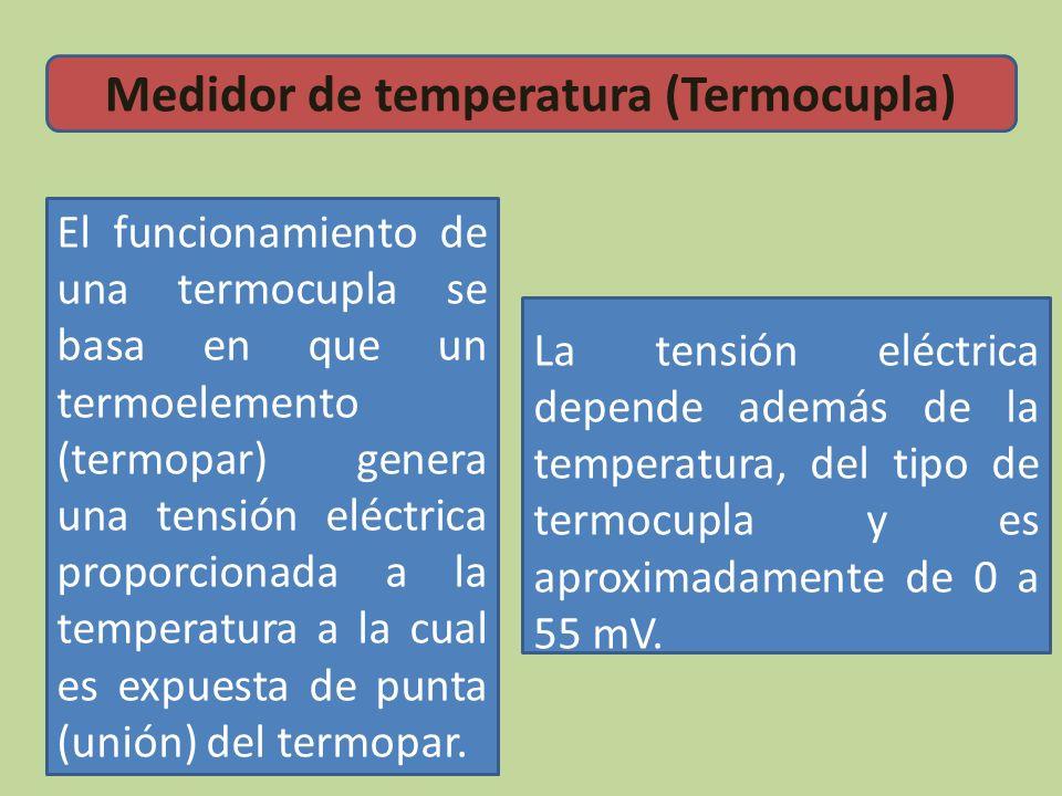 Medidor de temperatura (Termocupla)