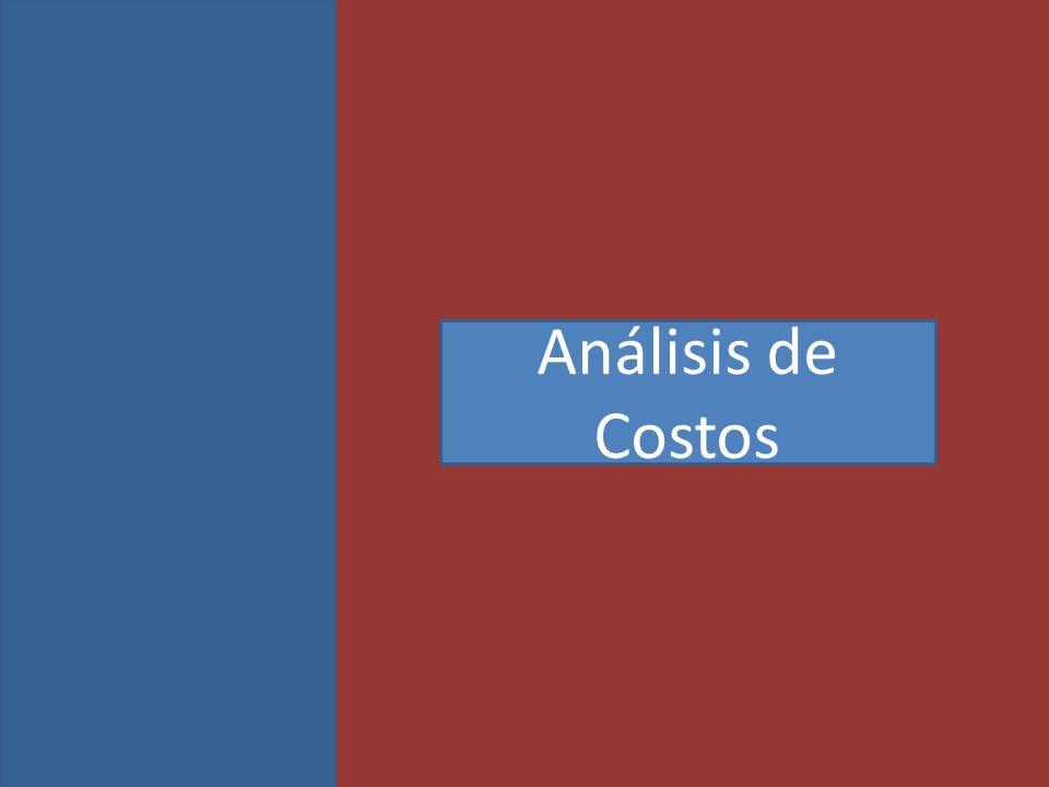 Análisis de Costos