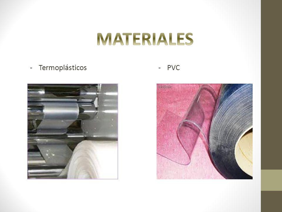 MATERIALES Termoplásticos PVC