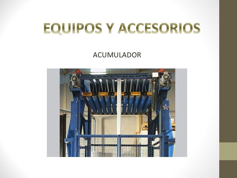 EQUIPOS Y ACCESORIOS ACUMULADOR