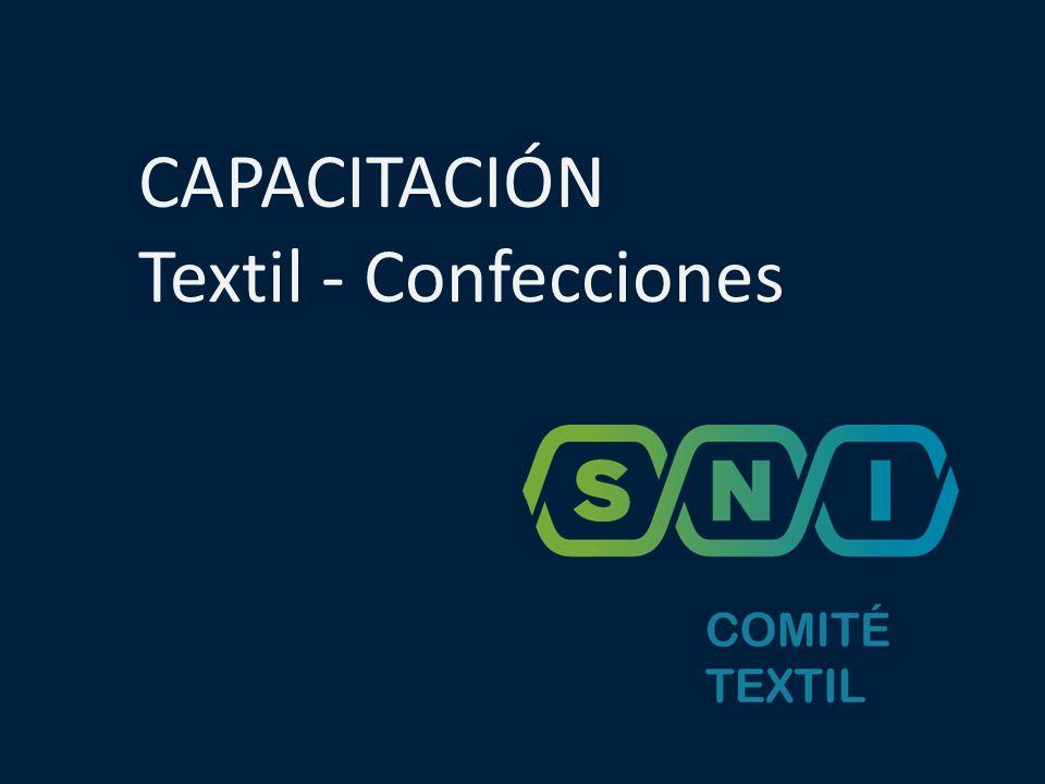 CAPACITACIÓN Textil - Confecciones