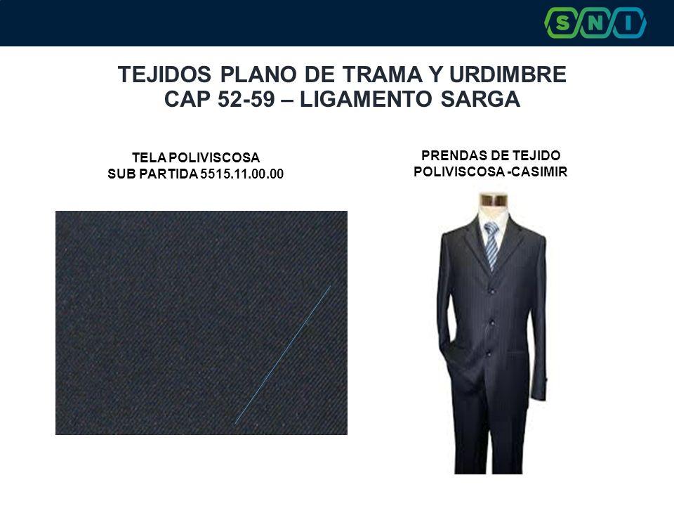 TEJIDOS PLANO DE TRAMA Y URDIMBRE CAP 52-59 – LIGAMENTO SARGA