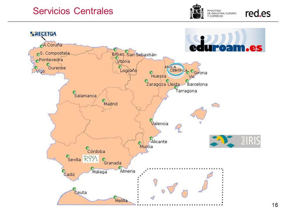 Servicios Centrales