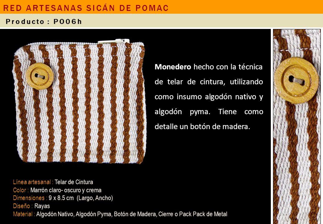 RED ARTESANAS SICÁN DE POMAC