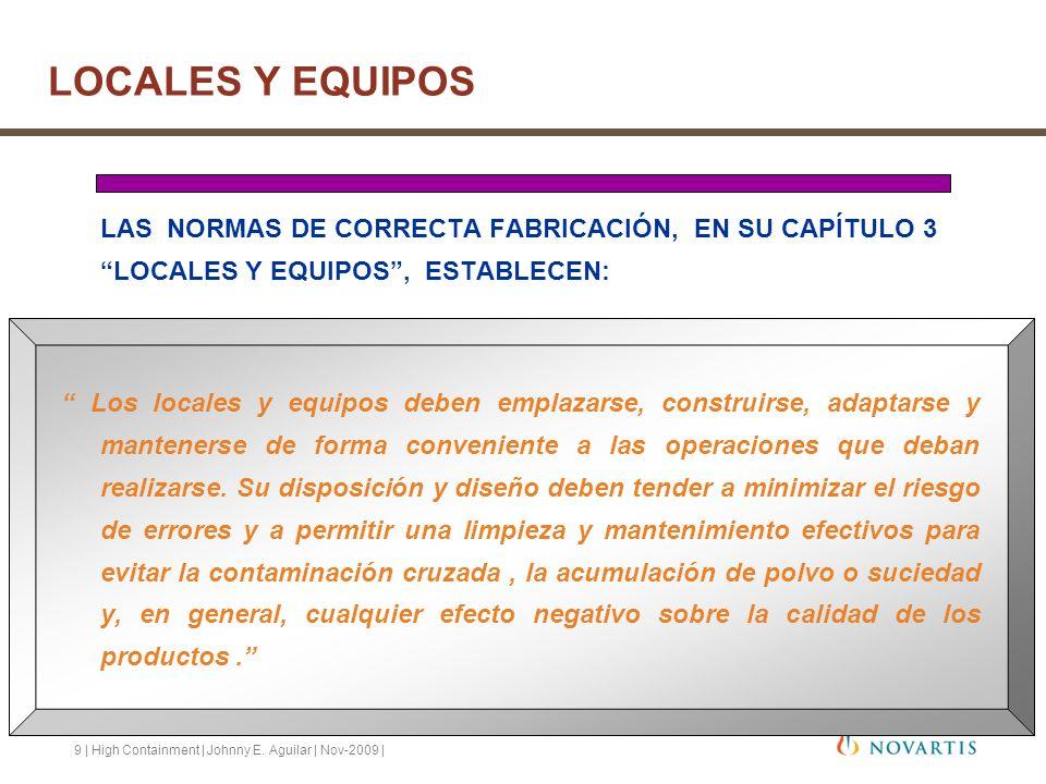 LOCALES Y EQUIPOS LAS NORMAS DE CORRECTA FABRICACIÓN, EN SU CAPÍTULO 3 LOCALES Y EQUIPOS , ESTABLECEN: