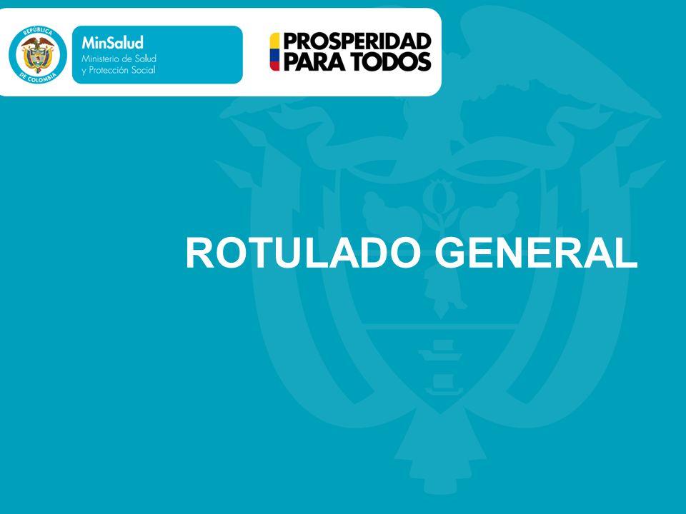ROTULADO GENERAL