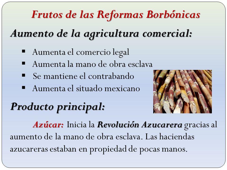 Frutos de las Reformas Borbónicas