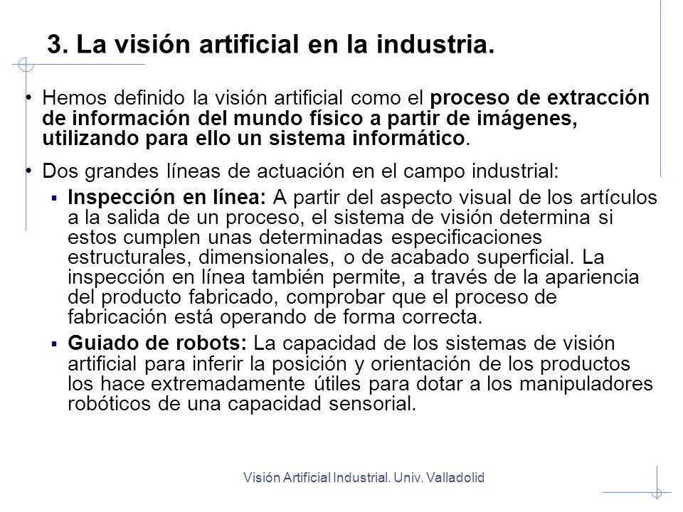 3. La visión artificial en la industria.
