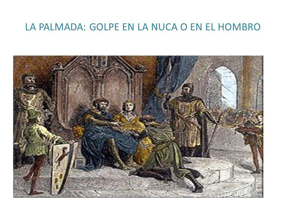 LA PALMADA: GOLPE EN LA NUCA O EN EL HOMBRO