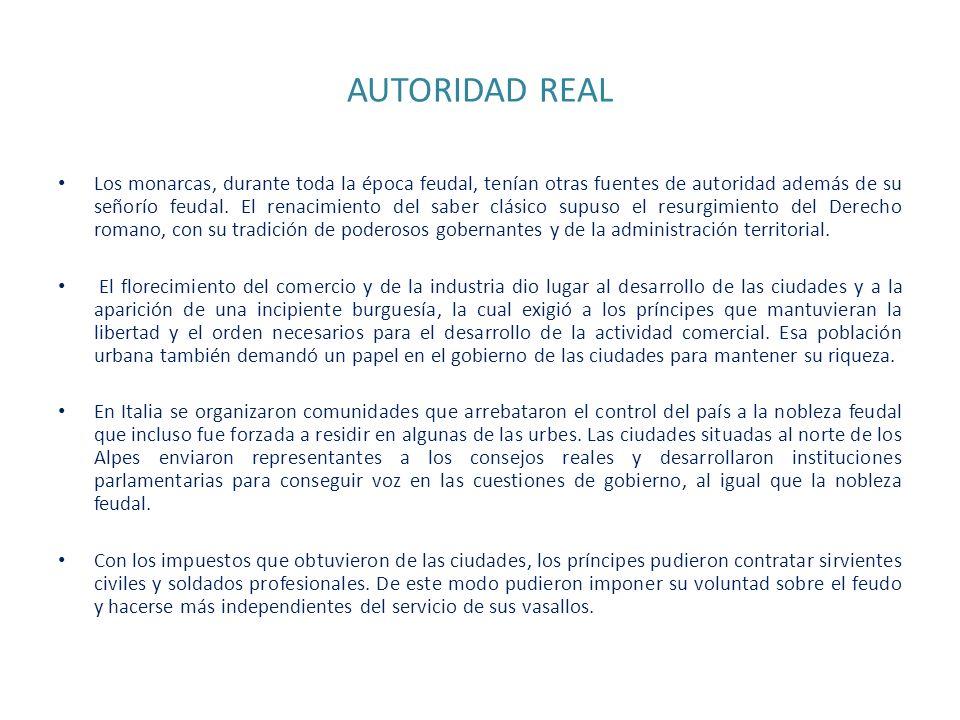 AUTORIDAD REAL