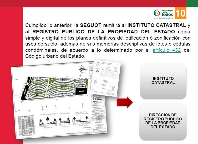 DIRECCIÓN DE REGISTRO PÚBLICO DE LA PROPIEDAD DEL ESTADO