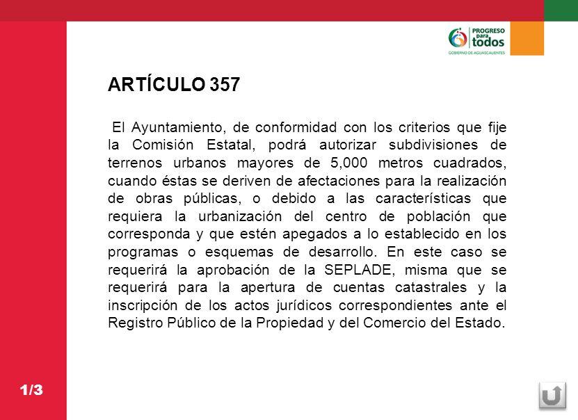 ARTÍCULO 357