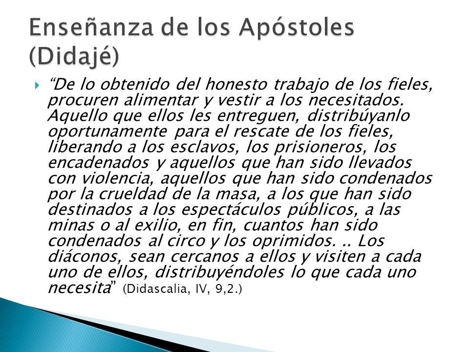 Enseñanza de los Apóstoles (Didajé)