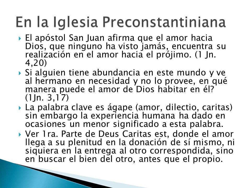 En la Iglesia Preconstantiniana
