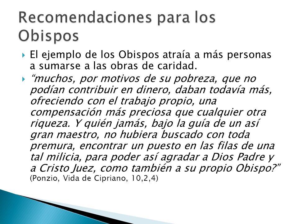 Recomendaciones para los Obispos
