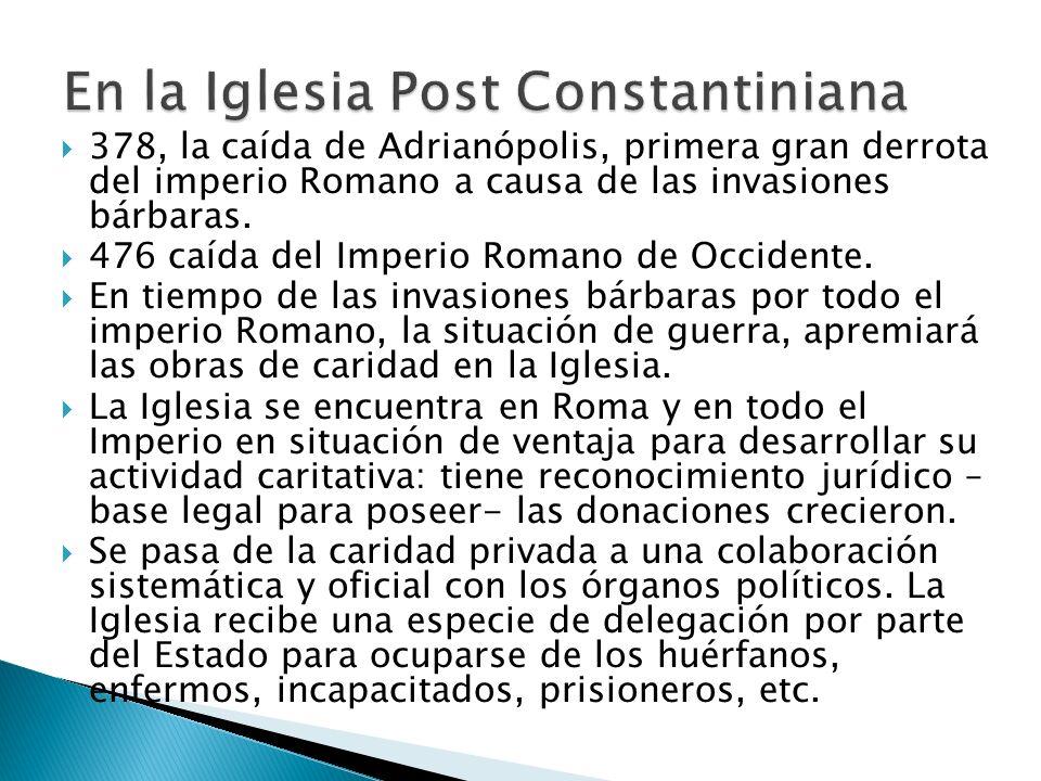 En la Iglesia Post Constantiniana