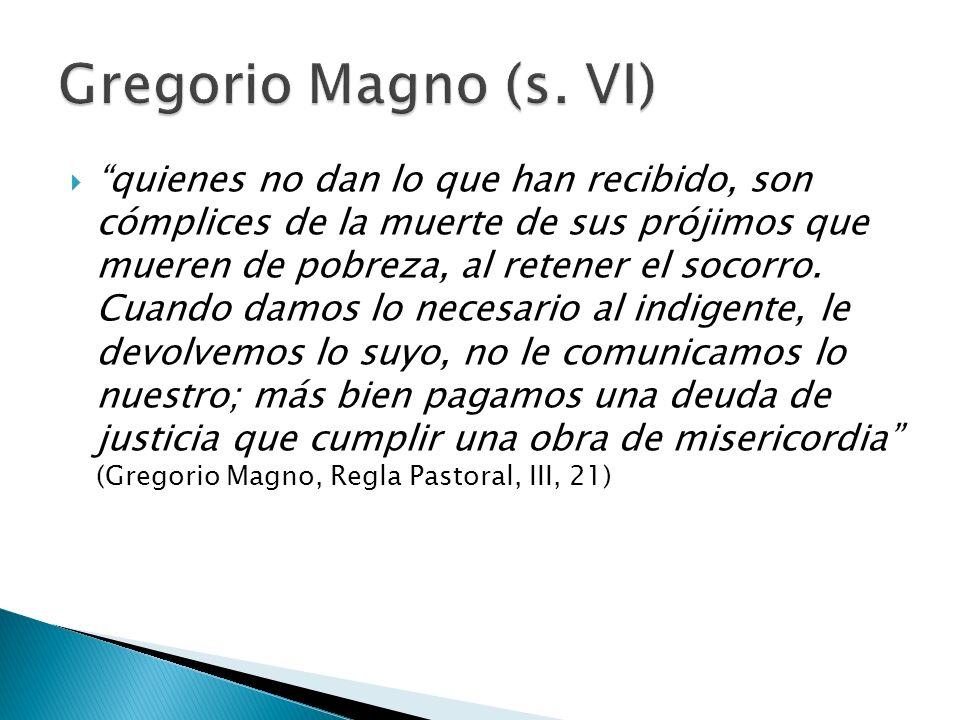 Gregorio Magno (s. VI)