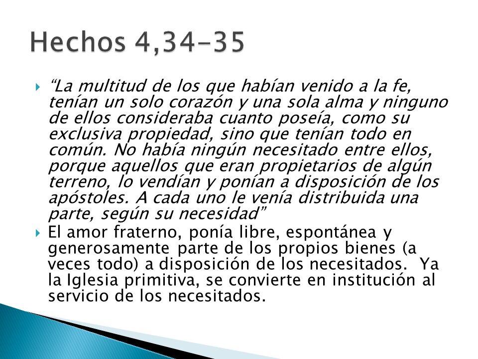 Hechos 4,34-35