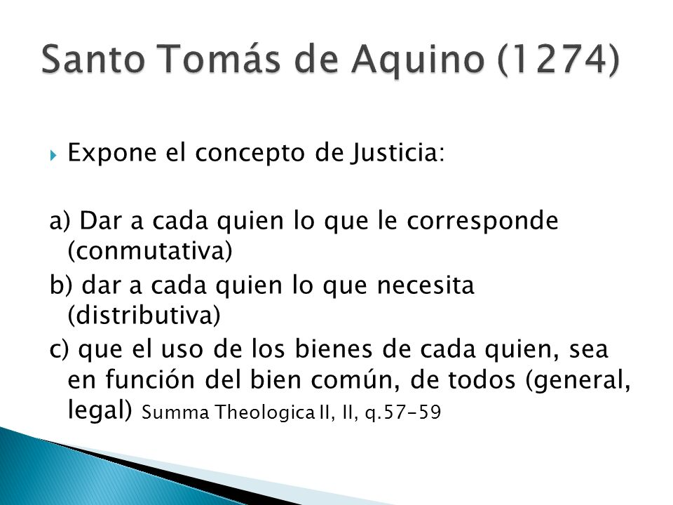Santo Tomás de Aquino (1274)