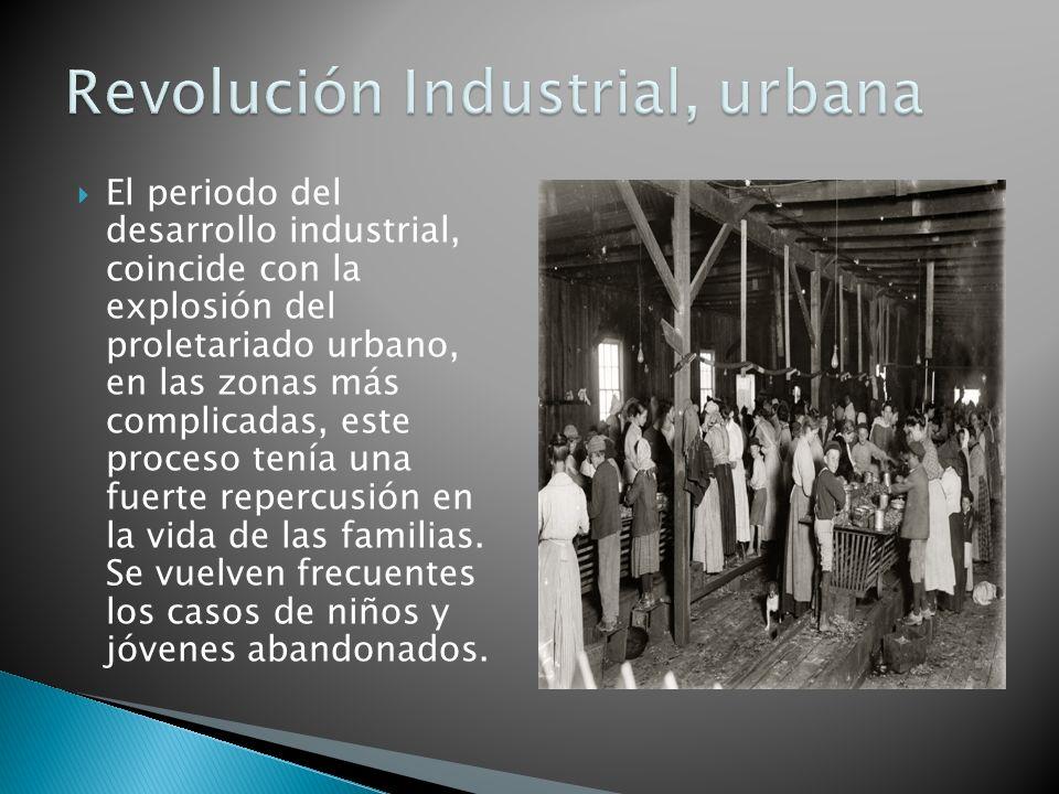 Revolución Industrial, urbana
