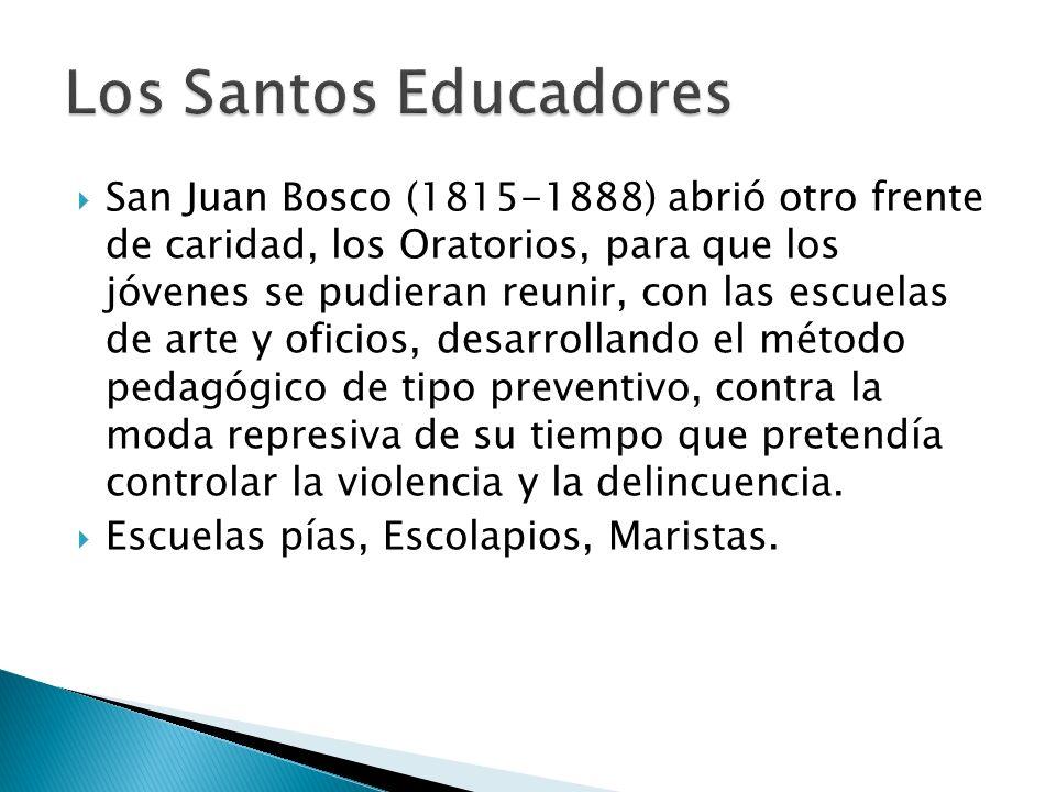 Los Santos Educadores