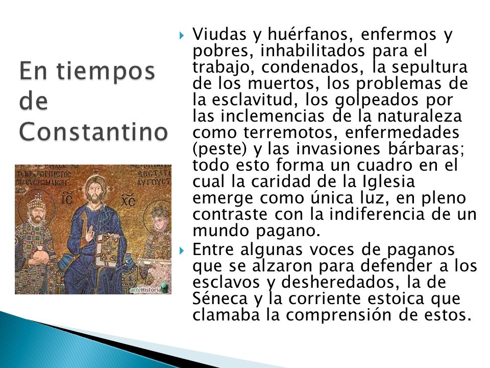 En tiempos de Constantino