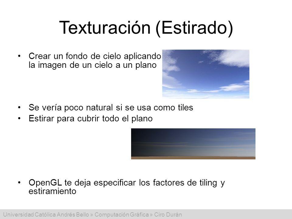 Texturación (Estirado)