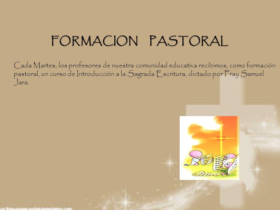 FORMACION PASTORAL