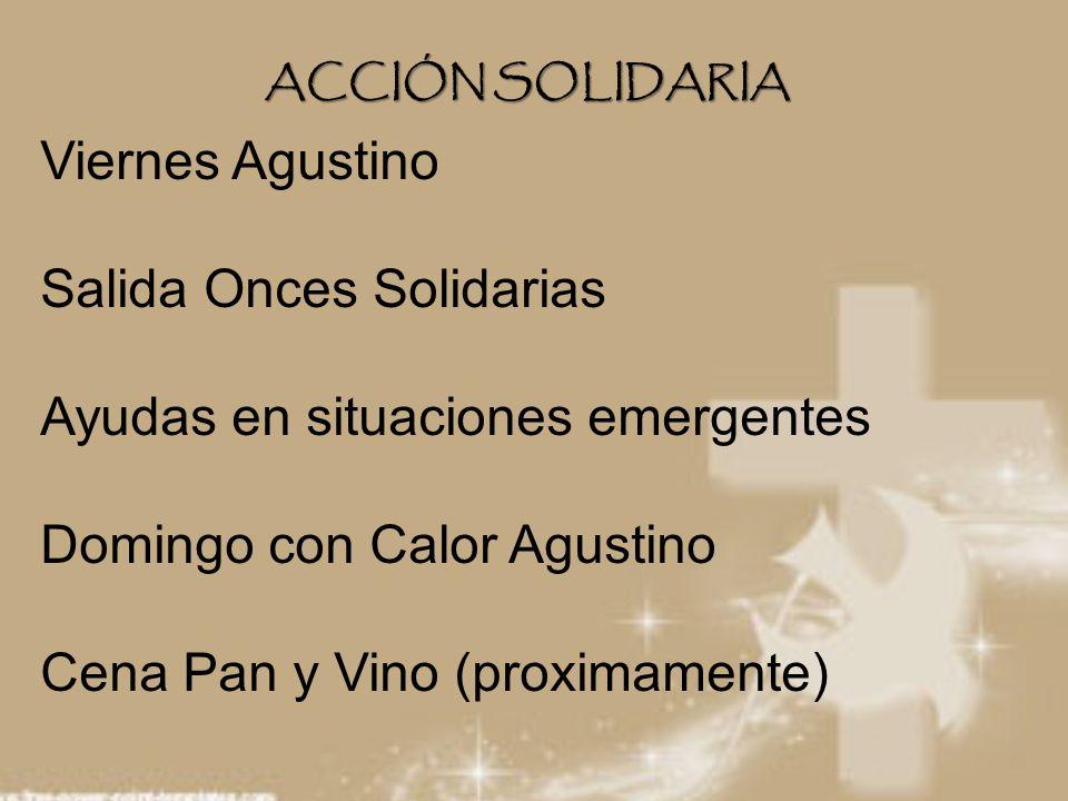 Salida Onces Solidarias Ayudas en situaciones emergentes