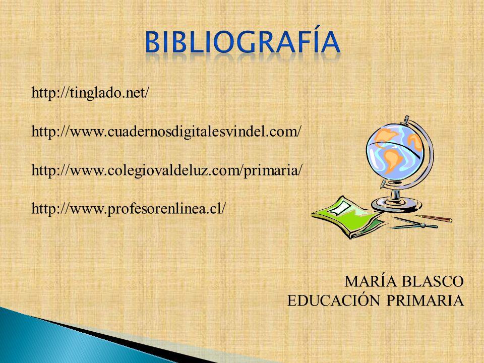 BIBLIOGRAFÍA http://tinglado.net/