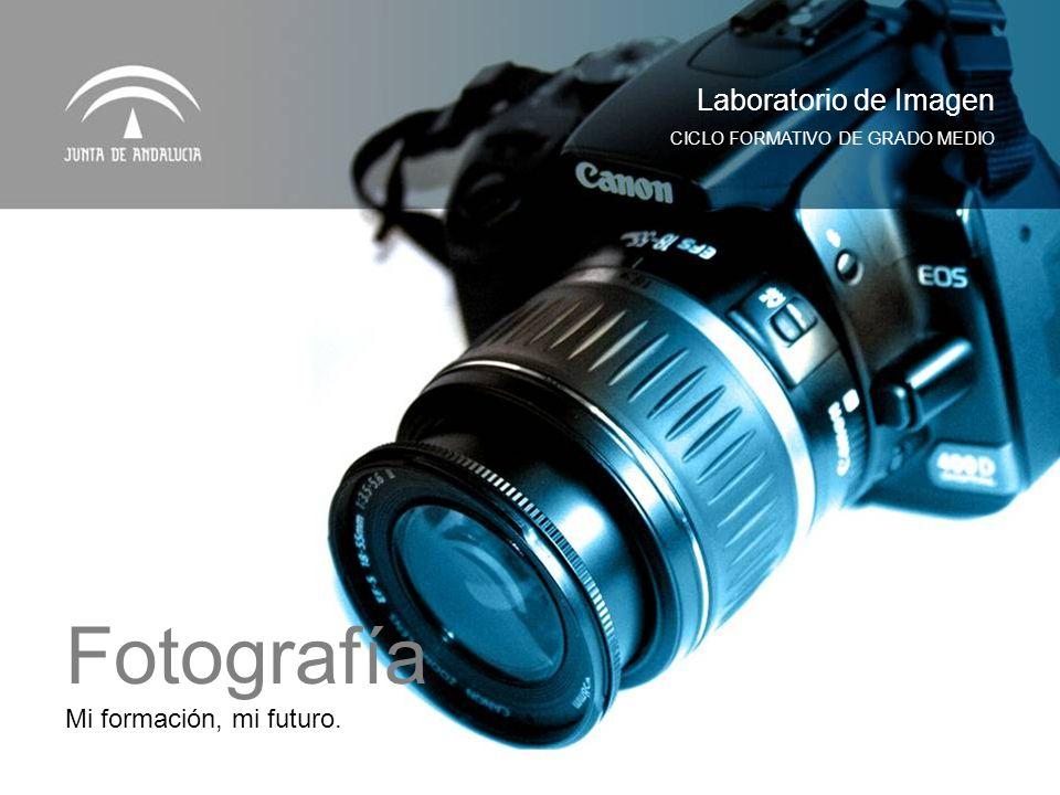 Fotografía Laboratorio de Imagen Mi formación, mi futuro.