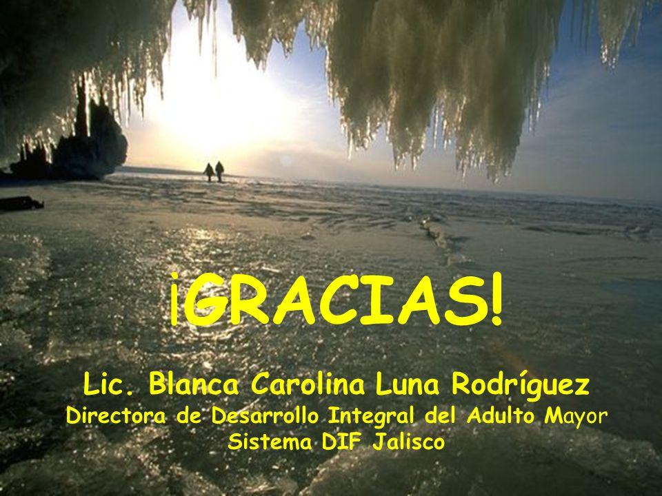 Lic. Blanca Carolina Luna Rodríguez