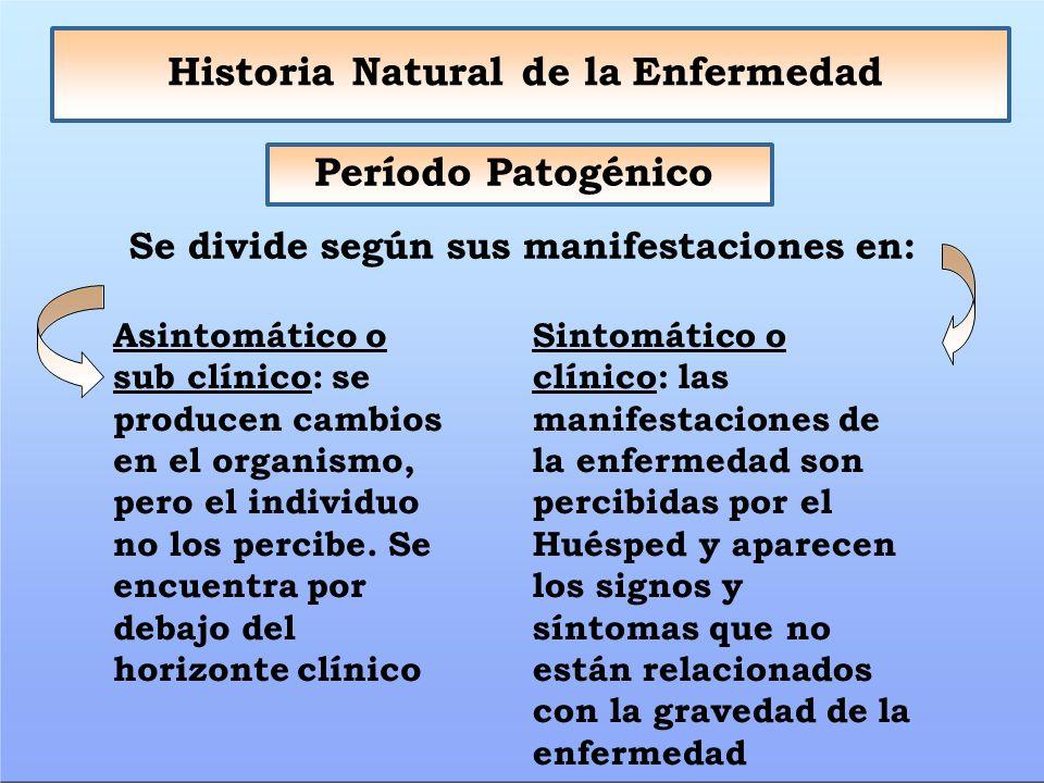 Tema Historia Natural de la Enfermedad. Factores Niveles