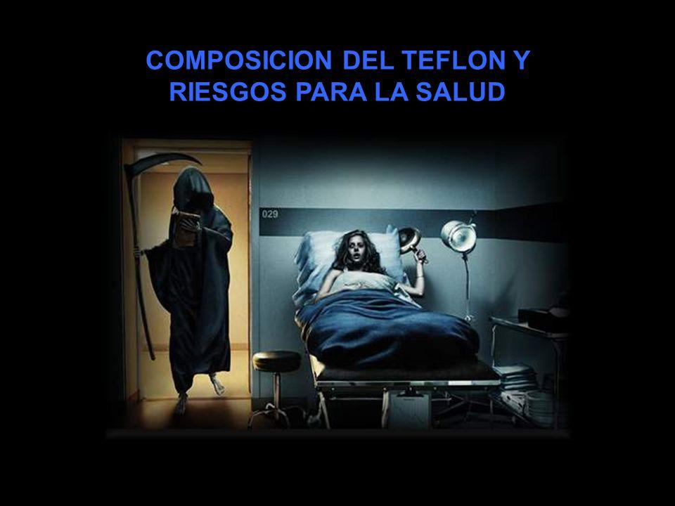 COMPOSICION DEL TEFLON Y
