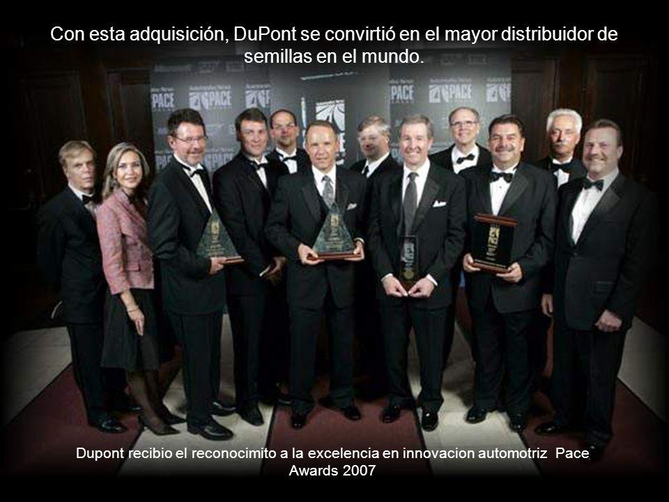 Con esta adquisición, DuPont se convirtió en el mayor distribuidor de semillas en el mundo.