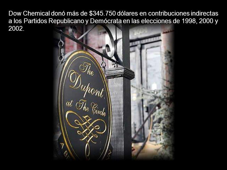Dow Chemical donó más de $345