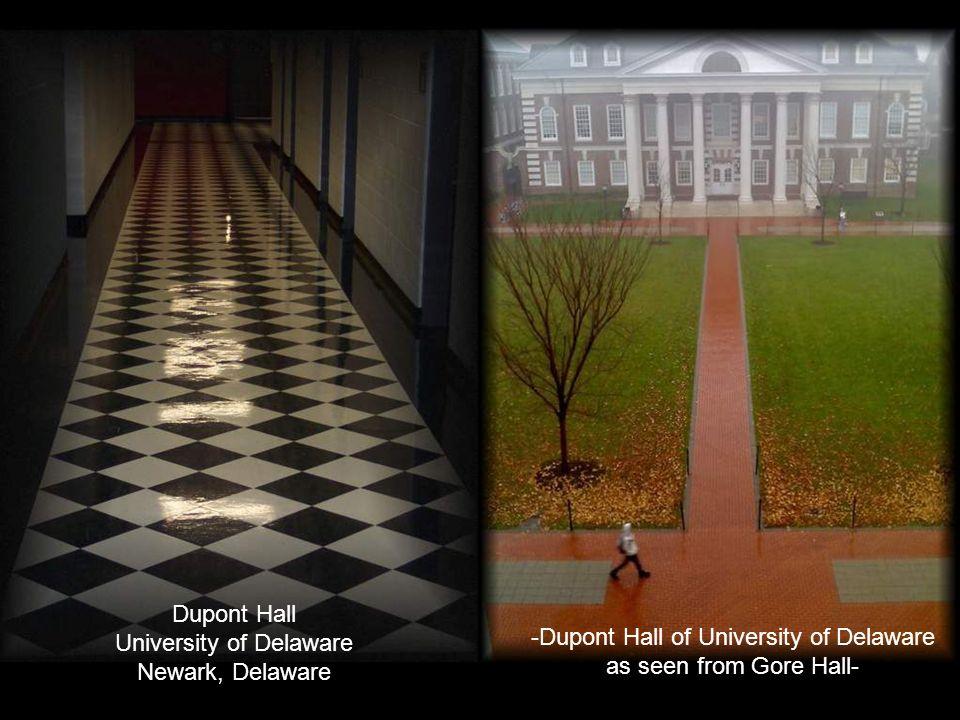 Dupont Hall University of Delaware Newark, Delaware
