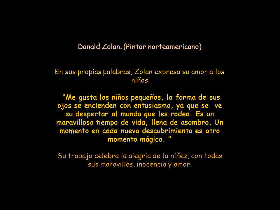 Donald Zolan. (Pintor norteamericano)