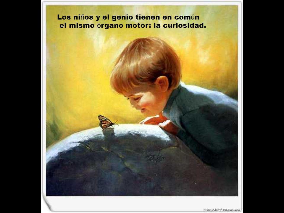 Los niños y el genio tienen en común