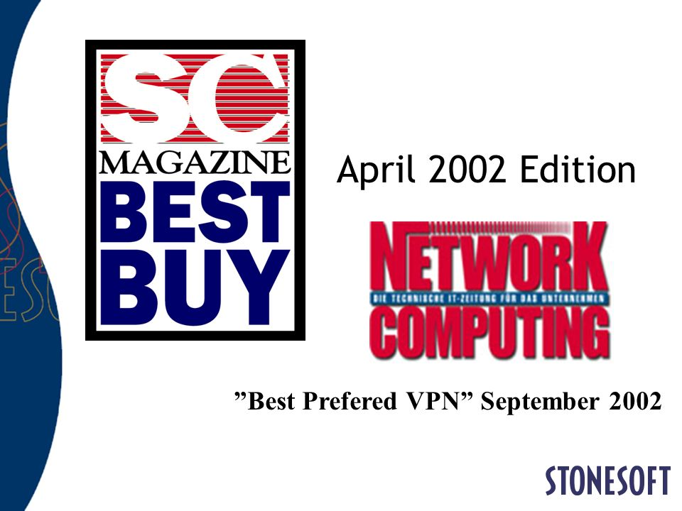Best Prefered VPN September 2002